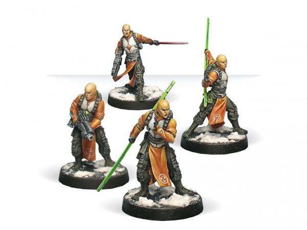 Infinity: Shaolin Warrior Monks (Combi Rifle, Chain Rifle)