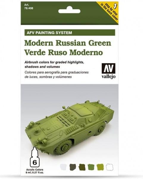 Model Air: Model Air Set AFV Modern Russian Green Set (6)