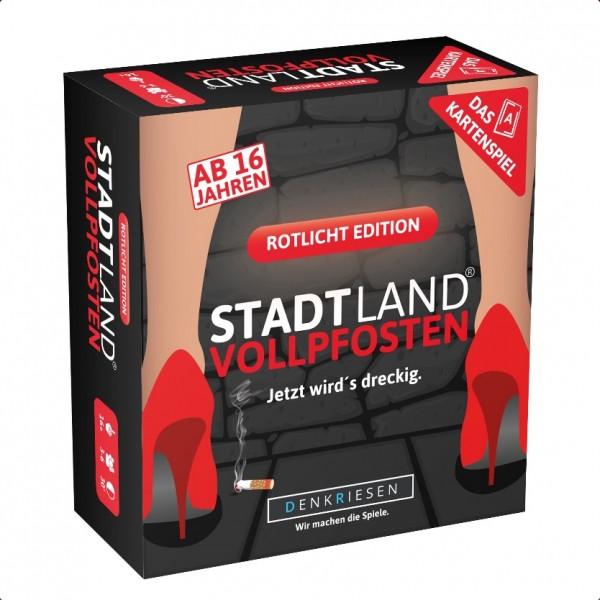 Stadt Land Vollpfosten: Rotlicht Edition (dt.)