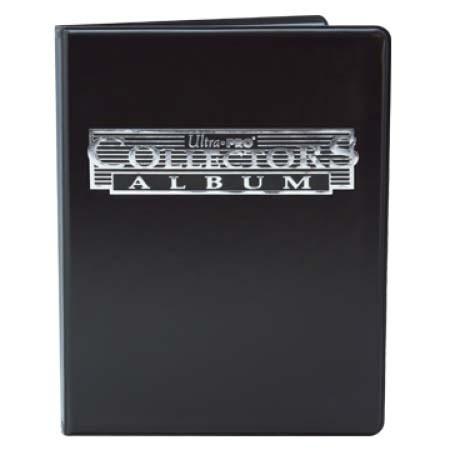 Ultra Pro Collectors 4-Pocket Portfolio - Black