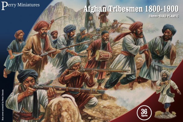 Perry Miniatures: Afghan Tribesmen 1800-1900