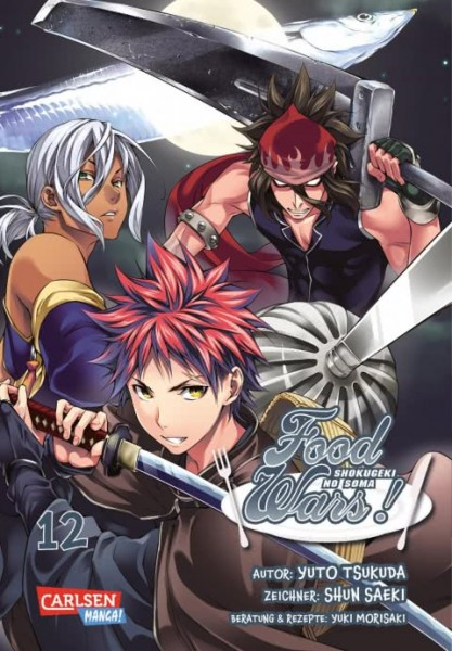 Food Wars - Shokugeki No Soma Band 12