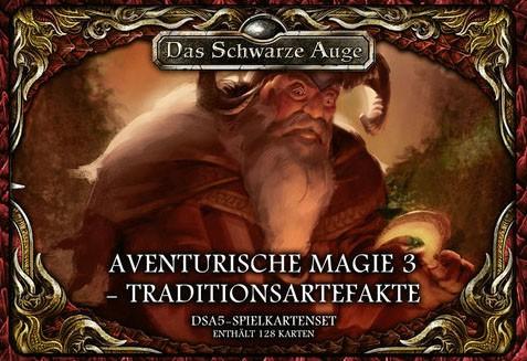 DSA5 Spielkartenset Aventurische Magie 3 - Traditionsartefak