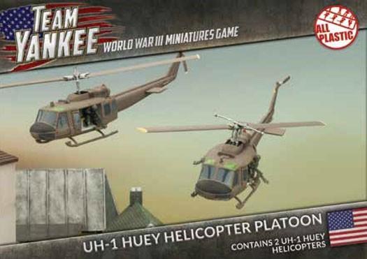 Team Yankee Huey (x2 Plastic)