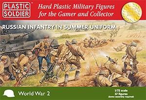 Plastic Soldier: 1/72 Late War Russian Infantry (Plastik)
