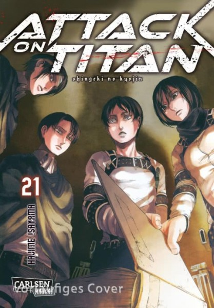 Attack on Titan Band 21