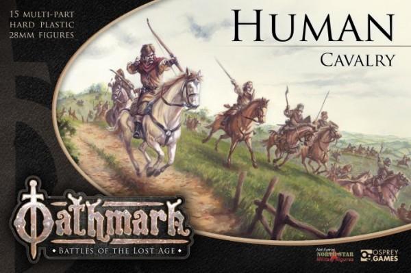 Oathmark: Human Cavalry (x15 Plastic)