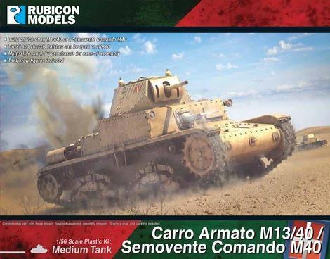 Italian Carro Armato M13/40