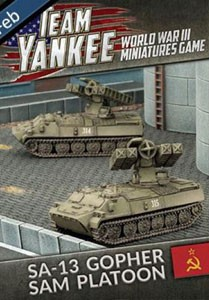 Team Yankee SA-13 Gopher SAM AA Platoon (x2)
