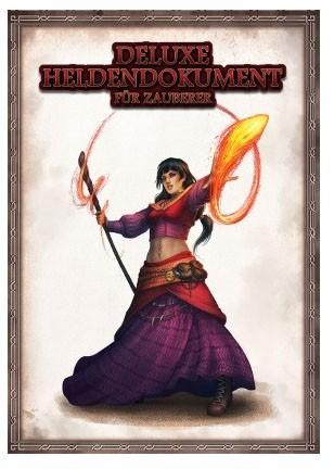 DSA5 Deluxe Heldendokument für Zauberer