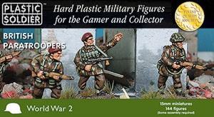 Plastic Soldier 15mm WW2 Bristish Paratroopers