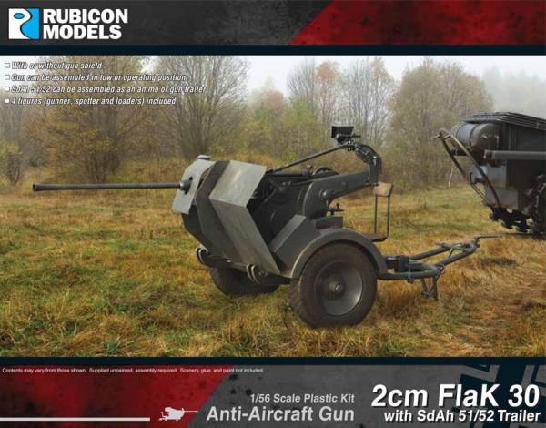 2cm FlaK30 w/SdAh 51/52 Trailer