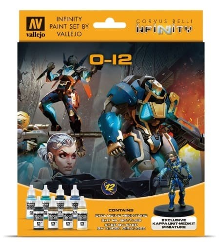 Vallejo Model Color: Infinity O-12 Exclusive Miniature Paint Set