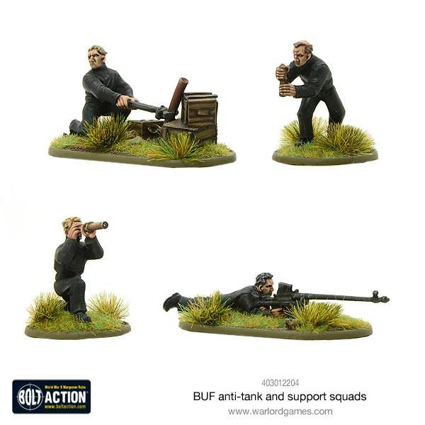 Bolt Action: BUF AT Team & Support Squad