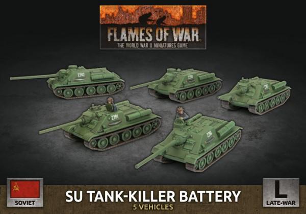 Flames of War SU: Tank-Killer Battery (x5/Plastic)