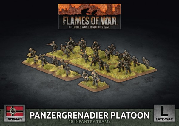Flames of War GE: LW Panzergrenadier Platoon (Plastik)