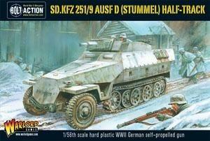 """Bolt Action: Sd.Kfz 251/9 Ausf. D """"Stummel"""""""
