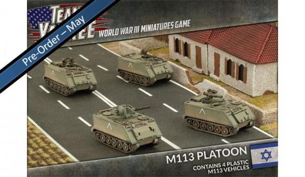 Oil War: M113 Platoon (x4/Plastik)