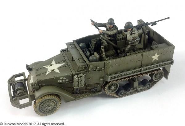 US M21 Mortar Motor Carriage & Tarpaulin Exp