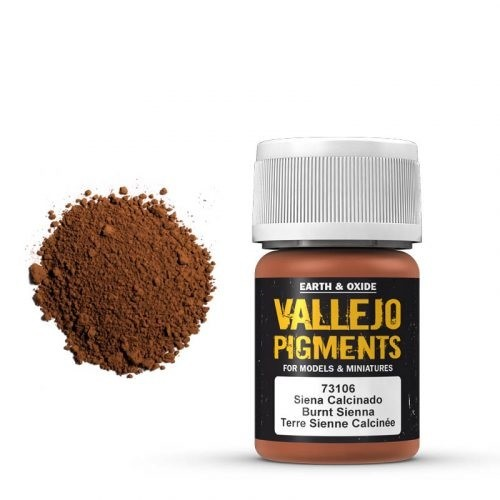 Vallejo Pigment Burnt Siena 30ml