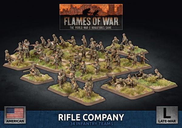 Flames of War US: US Rifle Company (Plastic)