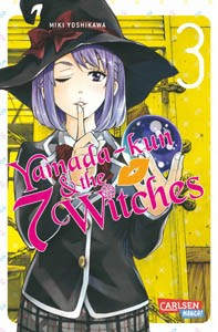 Yamada-kun and the seven Witches Band 03