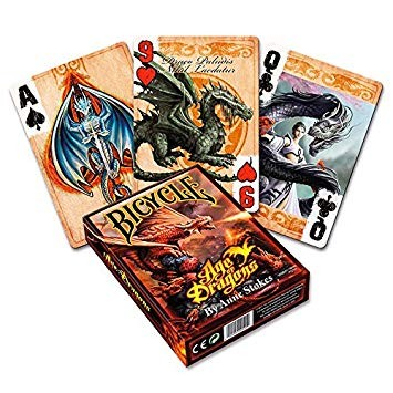 Poker: Bicycle Playing Cards Age of Dragons (Poker)