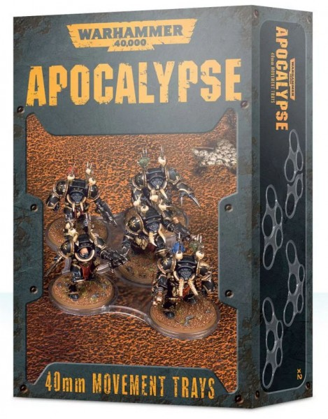 Apocalypse Movement Tray (40mm)