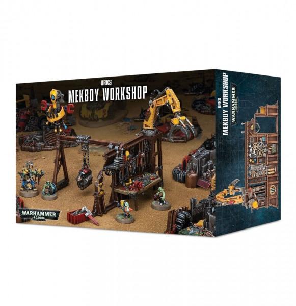 Warhammer 40k Space Orks: Space Orks Mekboy Workshop