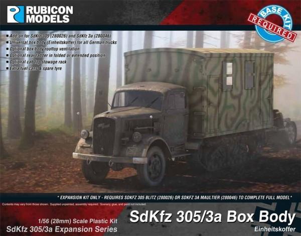 SdKfz 305/3A Expansion Set - Box Body