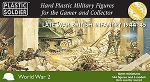 Plastic Soldier 15mm Late War British Infantry 1944-45