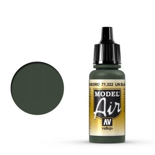 Vallejo Model Air: 71322 IJN Black Green 17ml