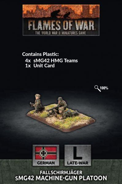 Flames of War BR: sMG Machine-Gun Platoon