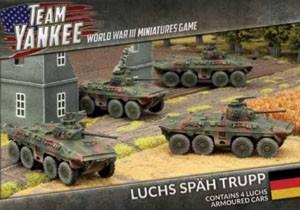 Flames of War Team Yankee Luchs Späh Trupp