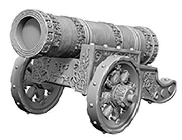 Pathfinder Deep Cuts Mini.: Large Cannon