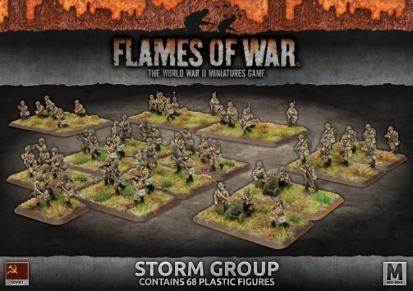 Flames of War SU: Storm Group (x68/Plastic)