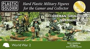 Plastic Soldier 15mm WW2 German Grenadiers 1944 (für FoW)