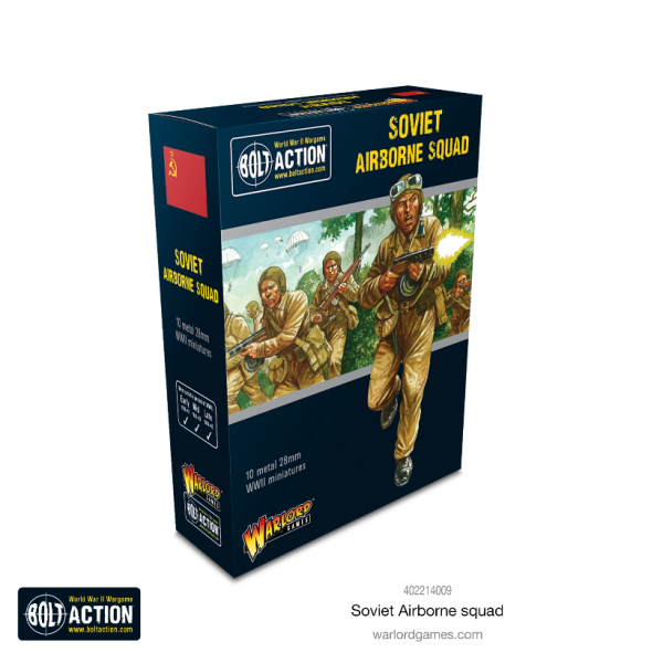 Bolt Action: Soviet Airborne Squad (10)