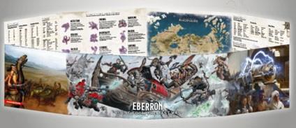 """Dungeons & Dragons: """"Eberron"""" - DM Screen (engl.)"""
