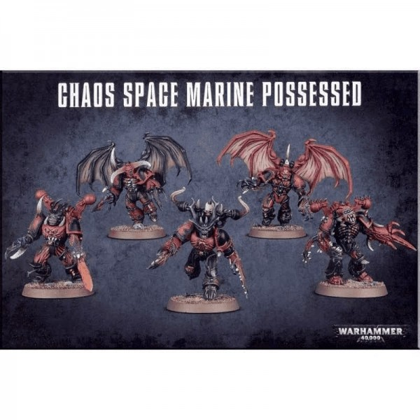 Warhammer 40k Chaos Space Marines Possessed (x5)