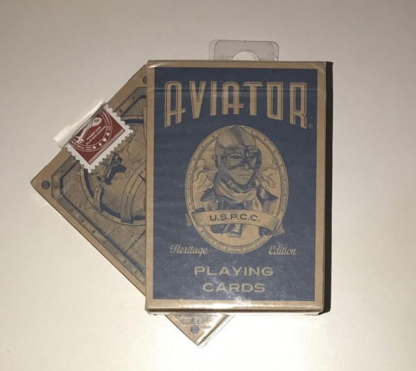 Poker: Bicycle Playing Cards Aviator Heritage Edition (Poker)