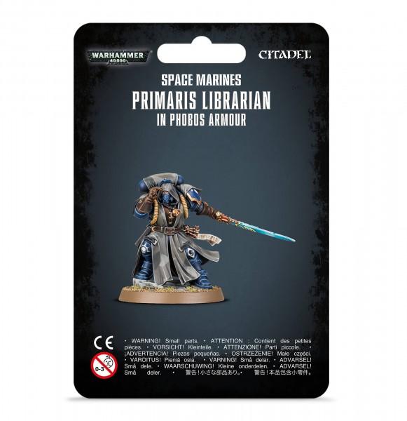 Warhammer 40k Space Marines: Space Marine Primaris Librarian in Phobos Armour