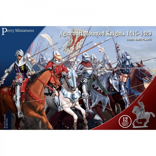 Perry Miniatures: Agincourt Mounted Knights (x12)