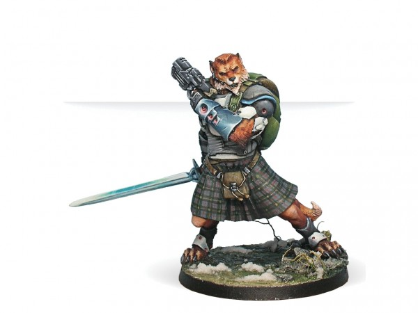 Infinity: McMurrough Mercenary Dog Warrior (Templar CCW)