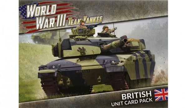 Team Yankee V2 British Unit Cards (engl.)