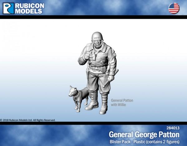 General George Patton w/ Willie