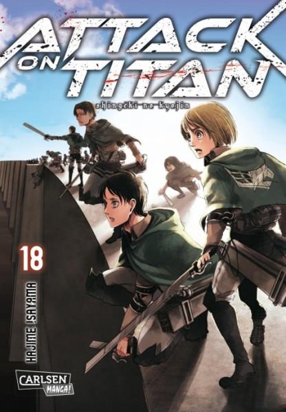 Attack on Titan Band 18