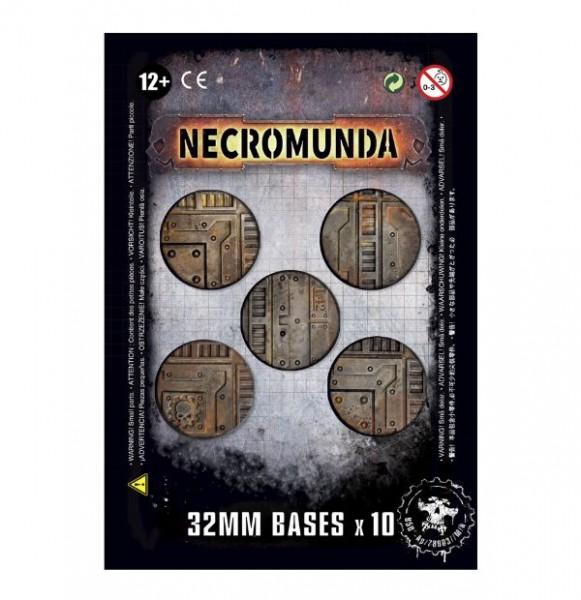 Necromunda: 32mm bases (10)