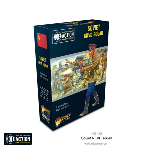 Bolt Action: Soviet NKVD Squad (10)