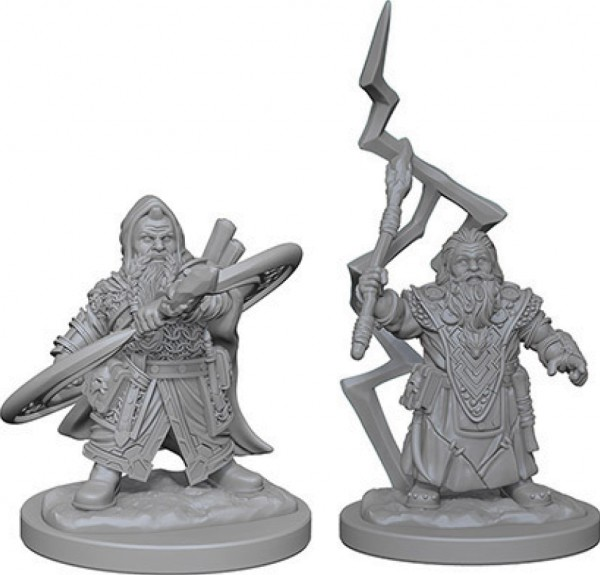 Pathfinder Deep Cuts Mini.: Dwarf Male Sorcerer